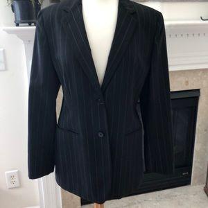 Classic Ralph Lauren Pinstripe Blazer